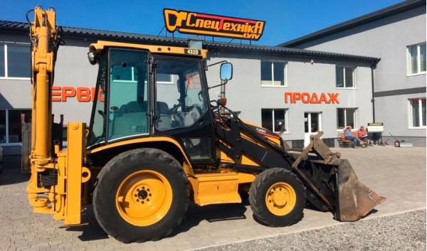 Экскаватор-погрузчик CATERPILLAR CAT432D