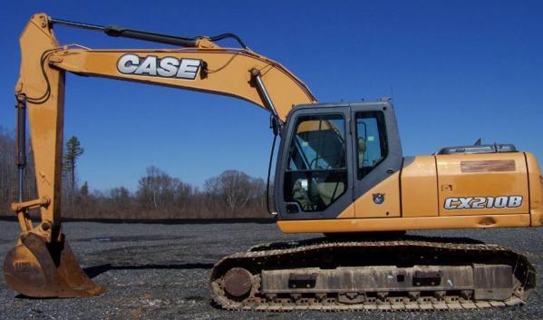Экскаватор гусеничный CASE CX210B