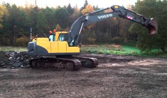Экскаватор гусеничный VOLVO EC210Blc