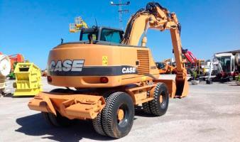Экскаватор колёсный CASE WX165