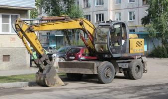 Экскаватор колёсный ТВЭКС ЕК-12