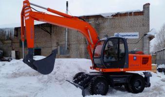 Экскаватор колёсный ТВЭКС ЕК-14