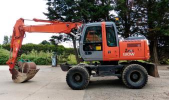 Экскаватор колёсный HITACHI ZX130W