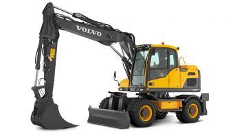 Экскаватор колёсный VOLVO EW 140