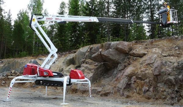 Подъёмник телескопический DINO 185XTC