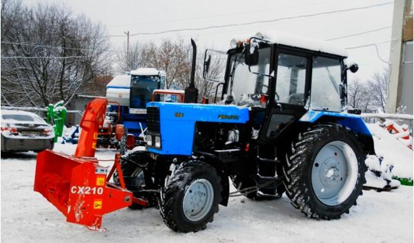 Снегоуборочная техника МТЗ 82