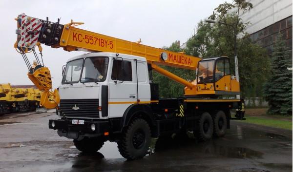 Автокран МАШЕКА КС-5571BY-5