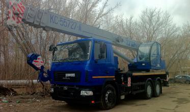Автокран ЗУБР КС55727-А