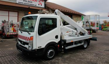 Автовышка NISSAN Cabstar 20m Pagliero Multitel MX200