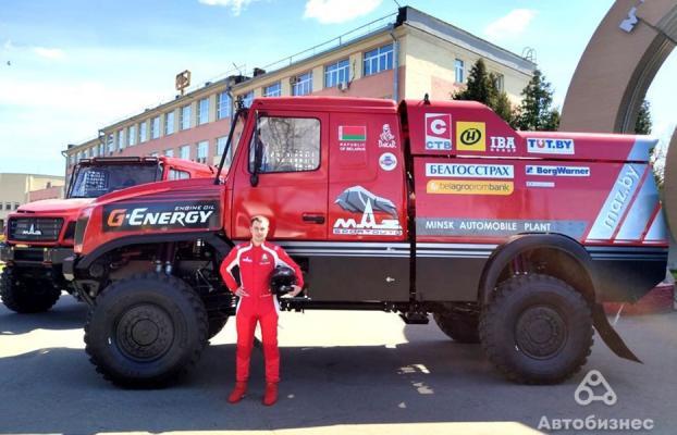МАЗ, который должен порвать всех конкурентов, - в Минске представили сверхмощный «капотник» в версии 2.0