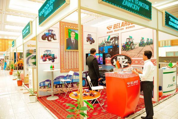 ОАО «МТЗ» принял участие в XVIII многопрофильной Международной выставке «Ak şäherim Aşgabat»